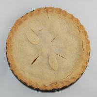 Fay's Fresh Peach Pie